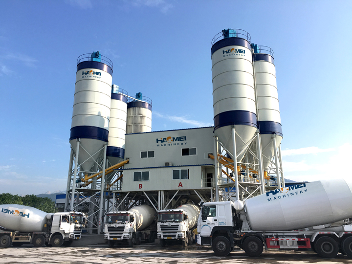 HZS180 Concrete Batching Plants