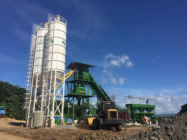 HZS60 Concrete Batching Plants