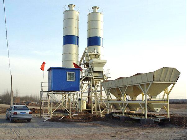 HZS75 Concrete Batching Plants