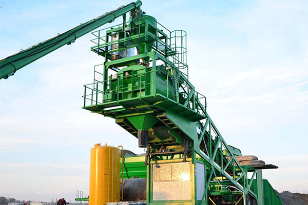 mobile concrete batching plant ready mixed