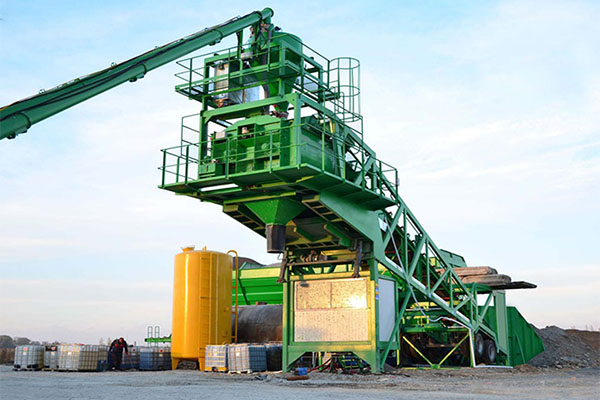 mobile concrete batching plant china